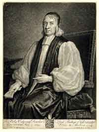 Rev. Dr. Fowler in 1684 - later Bishop of Gloucester