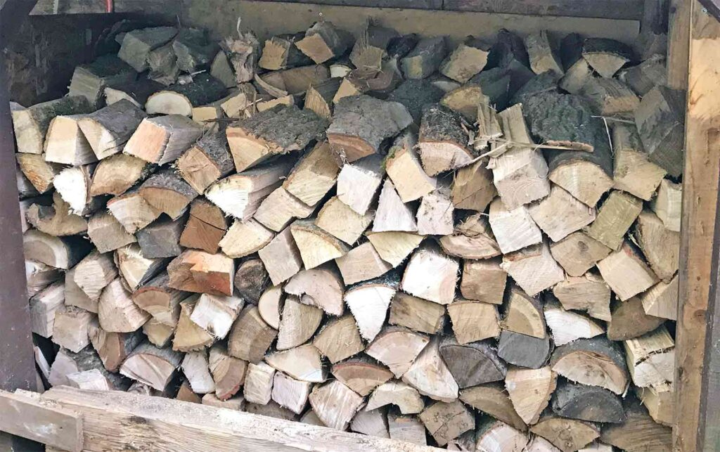 A Grant For Logs From The Gloucestershire Society